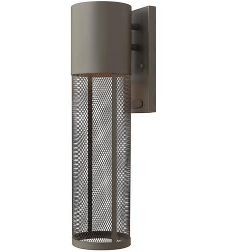Hinkley Lighting Aria 1 Light Outdoor Wall Lantern in Buckeye Bronze 2304KZ