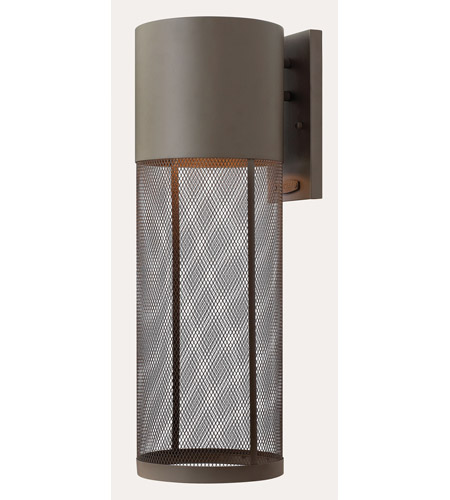 Hinkley 2305KZ-GU24 Aria 1 Light 22 inch Buckeye Bronze Outdoor Wall in GU24 photo