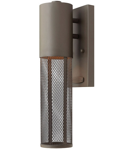 Hinkley Lighting Aria 1 Light Outdoor Wall Lantern in Buckeye Bronze 2306KZ
