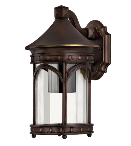 Hinkley Lighting Lucerne 1 Light Outdoor Wall Lantern in Copper Bronze 2310CB-DS photo