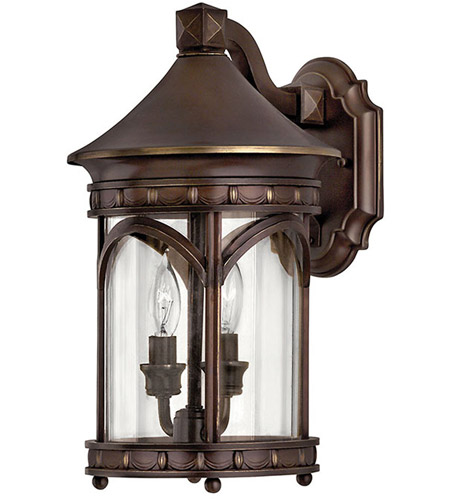 Hinkley Lighting Lucerne 2 Light Outdoor Wall Lantern in Copper Bronze 2310CB