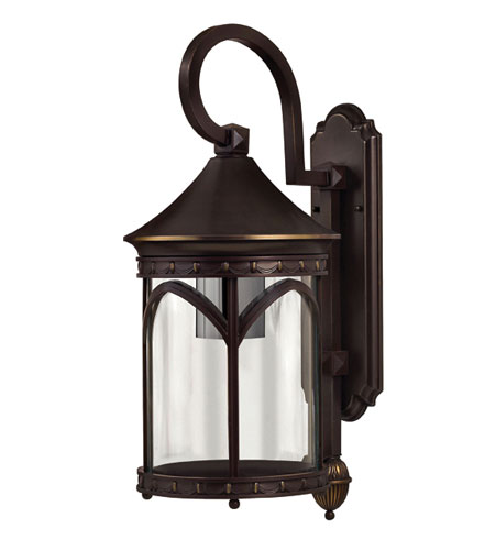 Hinkley Lighting Lucerne 1 Light Outdoor Wall Lantern in Copper Bronze 2314CB-DS photo
