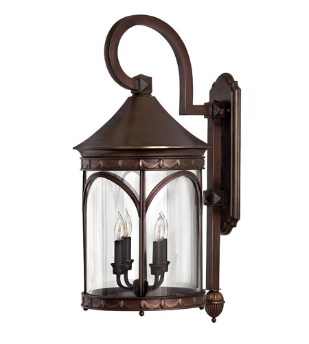 Hinkley Lighting Lucerne 1 Light LED Outdoor Wall in Copper Bronze 2315CB-LED