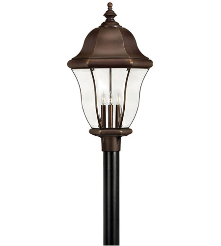 Hinkley Lighting Monticello 4 Light Post Lantern (Post Sold Separately) in Copper Bronze 2337CB photo