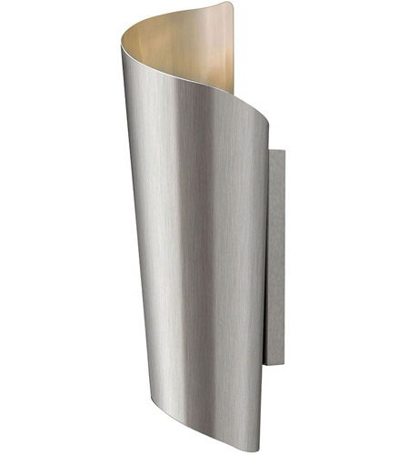 Hinkley Lighting Surf 2 Light Outdoor Wall in Stainless Steel 2354SS