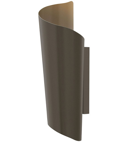 Hinkley Lighting Surf 2 Light Outdoor Wall in Bronze 2355BZ