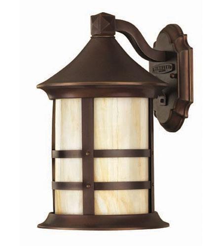 Hinkley Lighting Oak Park 1 Light Outdoor Wall Lantern in Copper Bronze 2390CB