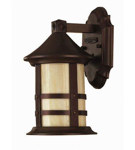 Hinkley Lighting Oak Park 1 Light Outdoor Wall Lantern in Copper Bronze 2396CB-ES photo