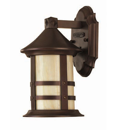Hinkley Lighting Oak Park 1 Light Outdoor Wall Lantern in Copper Bronze 2396CB