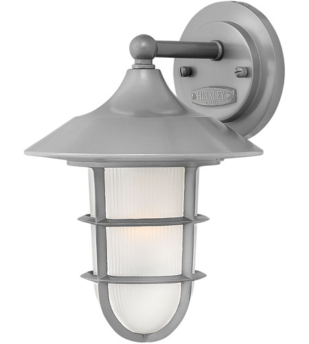 Hinkley Aluminum Marina Outdoor Wall Lights