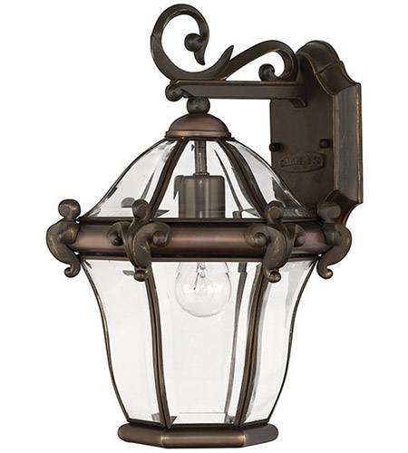 Hinkley 2440CB San Clemente 1 Light 15 inch Copper Bronze Outdoor Wall Lantern photo