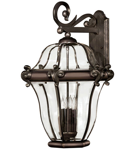 Hinkley 2446CB San Clemente 4 Light 28 inch Copper Bronze Outdoor Wall Lantern photo