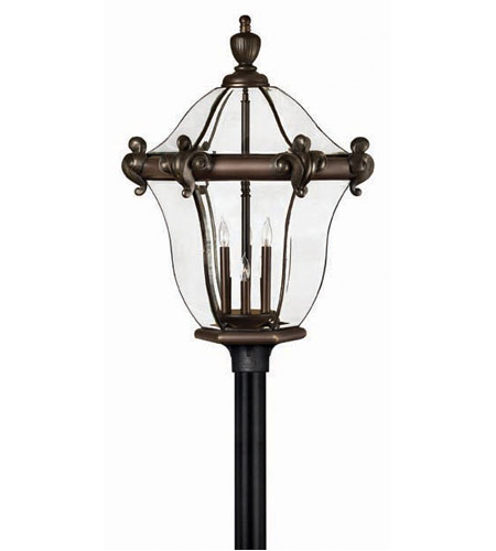 Hinkley San Clemente 6 Light Xx Large Post Lantern (Post Sold Separately) in Copper Bronze 2459CB photo