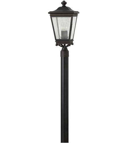 Hinkley Lighting Lincoln 3 Light Outdoor Post Lantern in Oil Rubbed Bronze 2461OZ