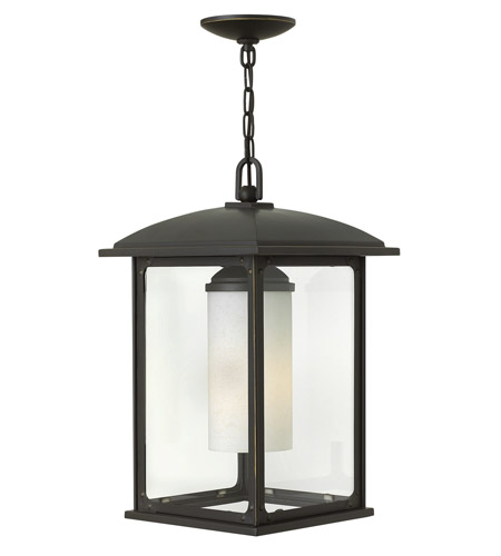 Hinkley 2472OZ Stanton 1 Light 11 inch Oil Rubbed Bronze Outdoor Hanging Lantern in Incandescent photo