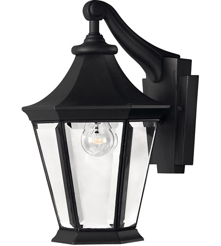 Hinkley Lighting Senator 1 Light Outdoor Wall Lantern in Black 2500BK photo