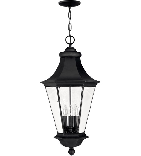 Hinkley 2502BK Senator 3 Light 13 inch Black Outdoor Hanging Lantern photo