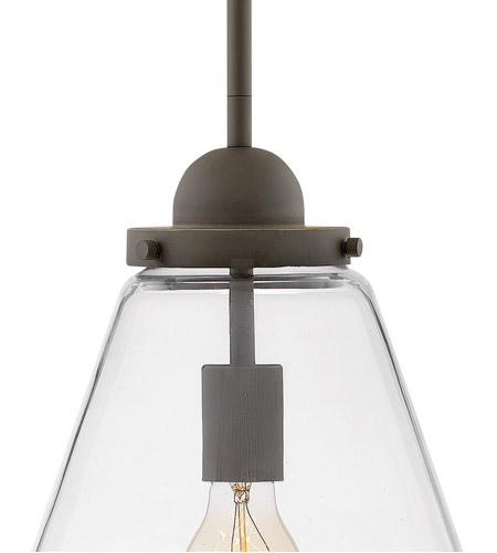 Hinkley 2512OZ Finley 1 Light 10 inch Oil Rubbed Bronze Outdoor Hanging Lantern alternative photo thumbnail