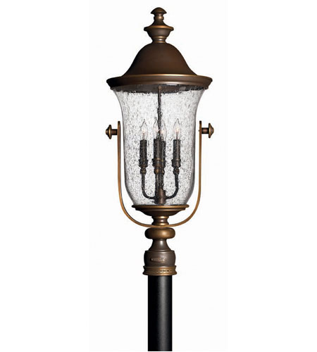 Hinkley Mariner 4 Light X Large Post Lantern (Post Sold Separately) in Rubbed Bronze 2531RZ
