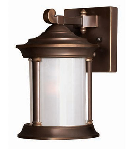Hinkley Lighting Hanna 1 Light Outdoor Wall Lantern in Metro Bronze 2540MT