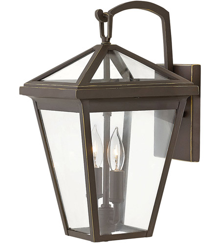 Hinkley 2560OZ Alford Place 2 Light 14 inch Oil Rubbed Bronze Outdoor Wall Mount in Incandescent, Small photo