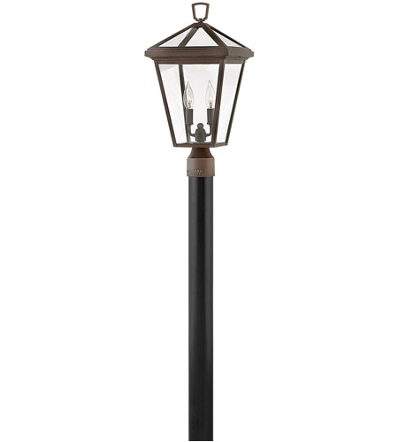 Hinkley 2561OZ Alford Place 2 Light 20 inch Oil Rubbed Bronze Outdoor Post Top/Pier Mount in Incandescent photo