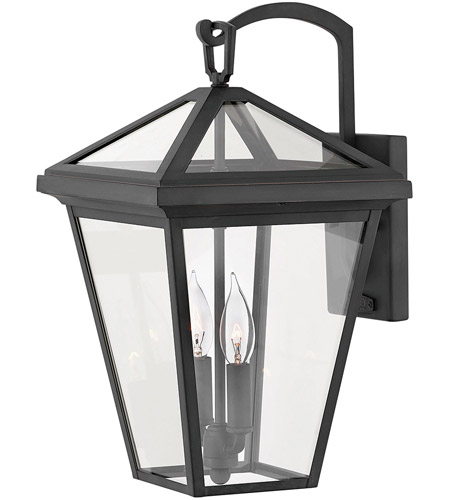 Hinkley 2564MB-LL Alford Place LED 18 inch Museum Black Outdoor Wall Mount, Medium photo