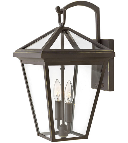 Hinkley 2564OZ Alford Place 2 Light 18 inch Oil Rubbed Bronze Outdoor Wall Mount, Medium photo