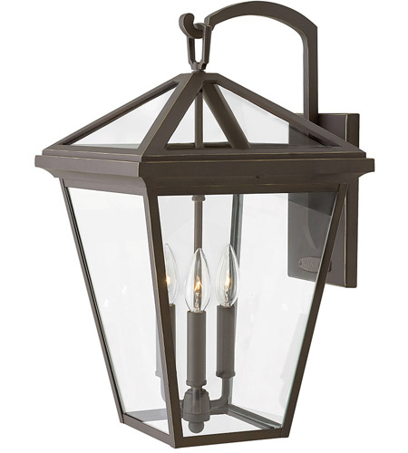 Hinkley 2565OZ Alford Place 3 Light 21 inch Oil Rubbed Bronze Outdoor Wall Mount in Incandescent, Large photo