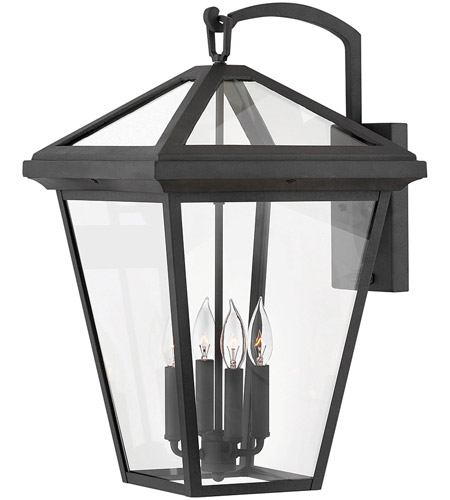 Hinkley 2568MB Alford Place 4 Light 24 inch Museum Black Outdoor Wall Mount photo