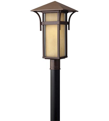 Hinkley Lighting Harbor 1 Light Post Lantern (Post Sold Separately) in Anchor Bronze 2571AR