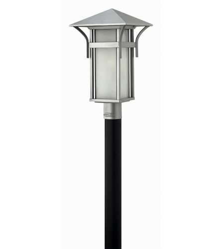 Hinkley Lighting Harbor 1 Light Post Lantern (Post Sold Separately) in Titanium 2571TT-ES photo