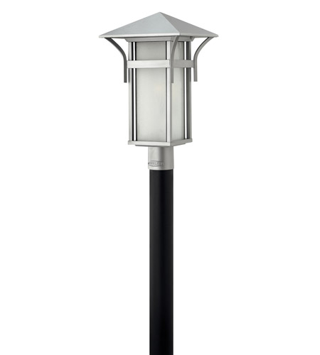 Hinkley Lighting Harbor 1 Light GU24 CFL Post Lantern (Post Sold Separately) in Titanium 2571TT-GU24