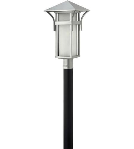 Hinkley Lighting Harbor 1 Light LED Post Lantern (Post Sold Separately) in Titanium 2571TT-LED