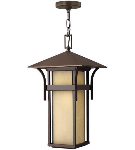 Hinkley Lighting Harbor 1 Light Outdoor Hanging Lantern in Anchor Bronze 2572AR