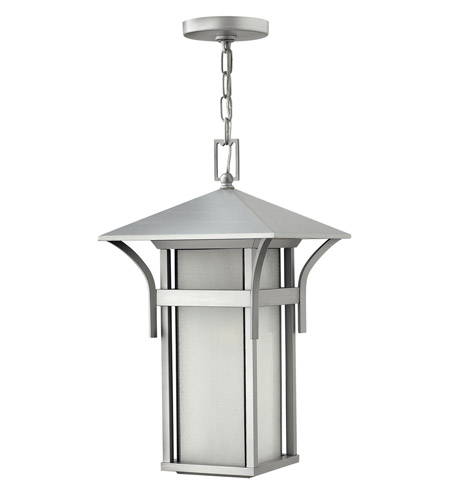 Hinkley Lighting Harbor 1 Light GU24 CFL Outdoor Hanging in Titanium 2572TT-GU24