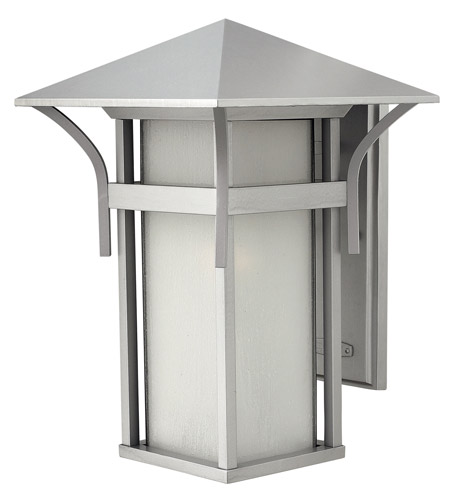 Hinkley Lighting Harbor 1 Light GU24 CFL Outdoor Wall in Titanium 2575TT-GU24 photo