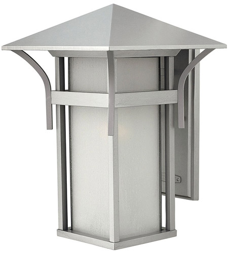 Hinkley Lighting Harbor 1 Light Outdoor Wall Lantern in Titanium 2575TT photo