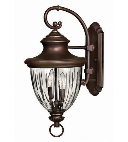 Hinkley Jefferson Large Wall Outdoor in Copper Bronze 2604CB