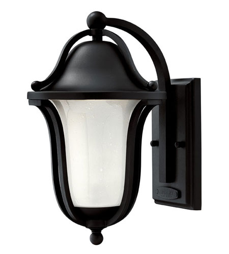 Hinkley Lighting Bolla 1 Light Outdoor Wall Lantern in Black 2630BK photo