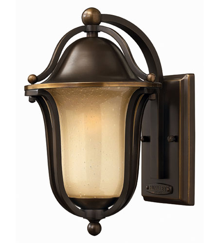 Hinkley Lighting Bolla 1 Light Outdoor Wall Lantern in Olde Bronze 2630OB-EST
