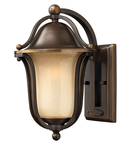 Hinkley 2630OB-GU24 Bolla 1 Light 12 inch Olde Bronze Outdoor Wall in GU24 photo