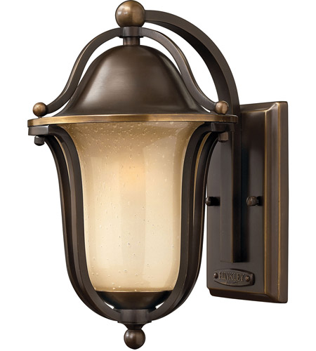 Hinkley 2630OB Bolla 1 Light 12 inch Olde Bronze Outdoor Wall Mount in Incandescent photo