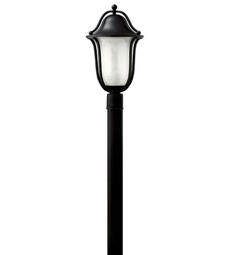 Hinkley Lighting Bolla 3 Light Post Lantern (Post Sold Separately) in Black 2631BK photo
