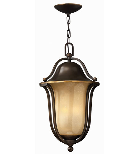 Hinkley Lighting Bolla 1 Light Outdoor Hanging Lantern in Olde Bronze 2632OB-EST