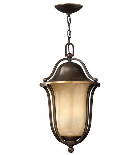 Hinkley Lighting Bolla 1 Light GU24 CFL Outdoor Hanging in Olde Bronze 2632OB-GU24