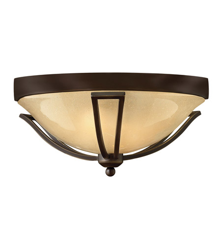 Hinkley 2633OB-GU24 Bolla 1 Light 17 inch Olde Bronze Outdoor Flush Mount in GU24 photo
