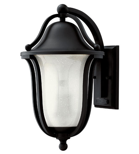 Hinkley Lighting Bolla 1 Light GU24 CFL Outdoor Wall in Black 2634BK-GU24 photo