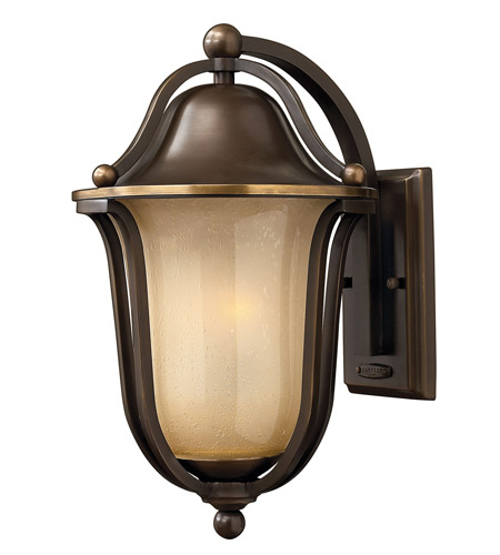 Hinkley Lighting Bolla 1 Light GU24 CFL Outdoor Wall in Olde Bronze 2634OB-GU24