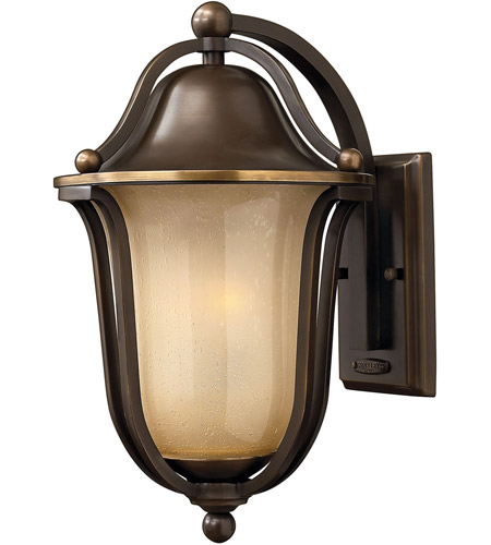 Hinkley 2634OB Bolla 2 Light 16 inch Olde Bronze Outdoor Wall Lantern in Incandescent photo